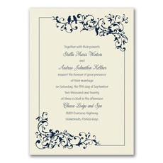 Little Love Birds - affordable and cheap invitation