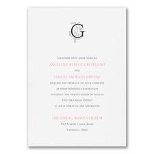 Modern Royalty - Invitation