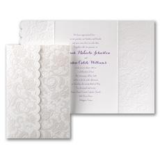 Symphony of Lace - Wedding Invitation