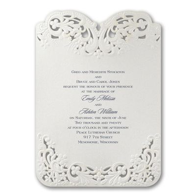 Elegant Lace - Invitation