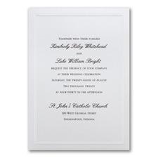 Shimmering Wedding - Invitation