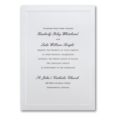 Shimmering Wedding - Wedding Invitation