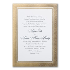 Elegant Wedding Invitations: Lovely in Linen