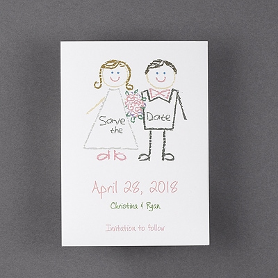 Kids at Heart - Save the Date Magnet
