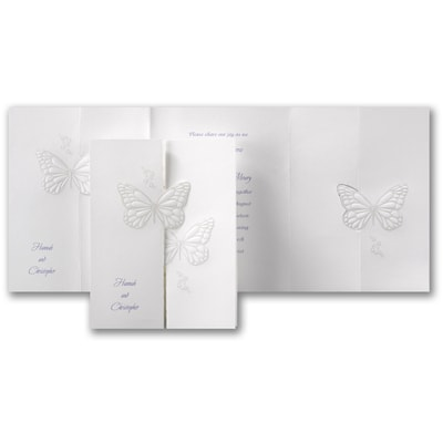 Butterfly Wishes - Invitation