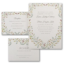 Colorful Posies - Invitation Set