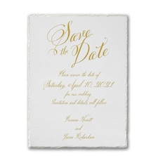 Deckle Love - Save the Date