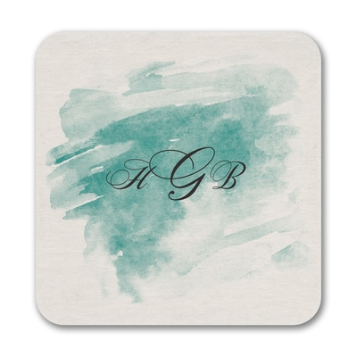 Watercolor Mist - Coaster