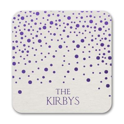 Glittering Dots - Coaster