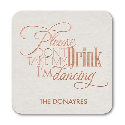 Drinking and Dancing - Coaster