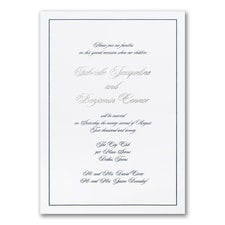 Wedding Invitation: Elegant Beginning