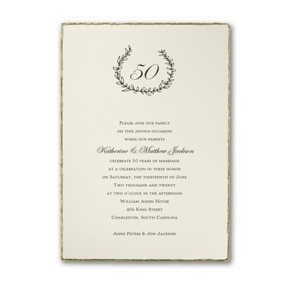 Whimsical Anniversary - Invitation