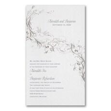 Silver Vines - Wedding Invitation