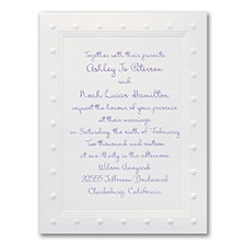 Dots Border - Invitation
