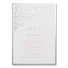 Wedding Invitation: Naturally Sweet
