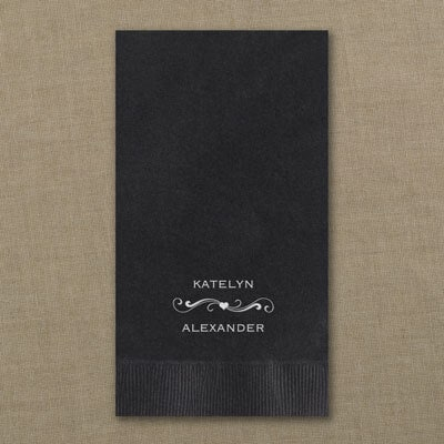 Guest Towel - Black