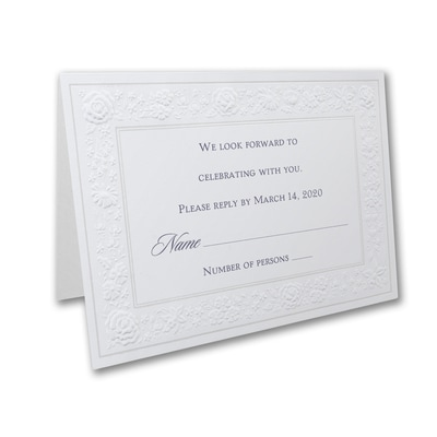 Pearl Decadence - Response Folder and Envelope