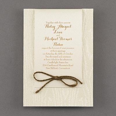 Woodsy Look - Invitation