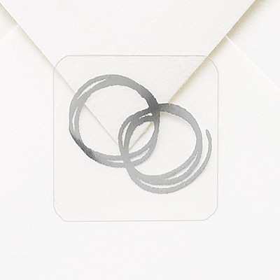Silver Rings Seal