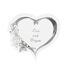 Silver Heart Seal