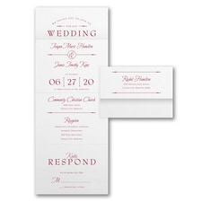 With RSVP Cards: Retro Typography