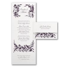 Seal and Send Invitation: Divine Blossoms