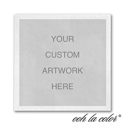 Custom Ooh la Color Napkin