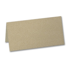 Blank Place Card - Kraft