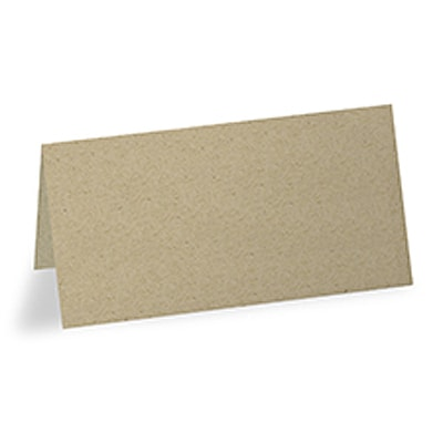 Blank Place Card - Kraft