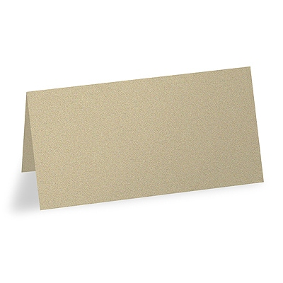 Wrapped in Gold - Blank Place Card