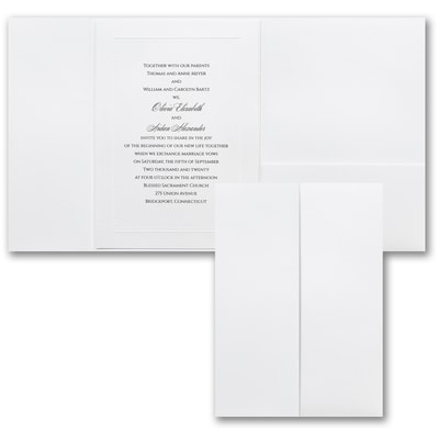 Elegant Entrance - Invitation