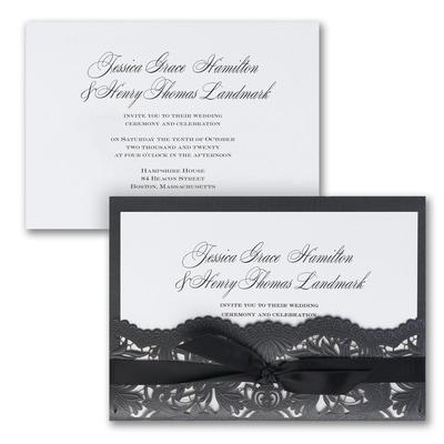 Shimmering Elegance - Invitation