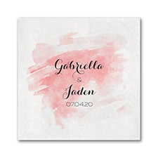 Watercolor Mist - Ooh la Color Napkin