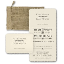 rustic invitation: Typography Inspiration