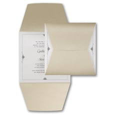 Wrapped in Gold - Wedding Invitation