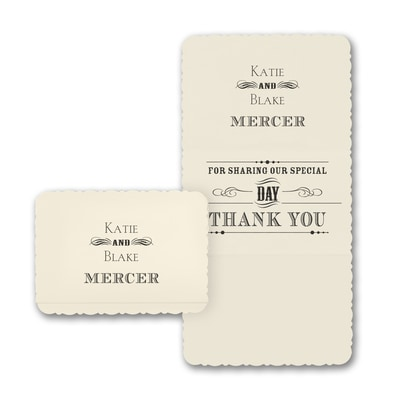 Typography Inspiration - Thank You Note