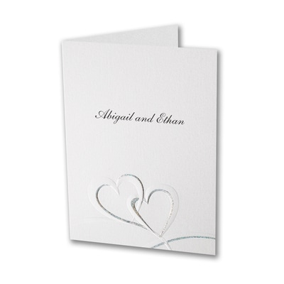 Shimmering Hearts - Thank You Note