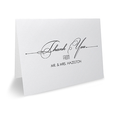 Treasured Love - Thank You Note