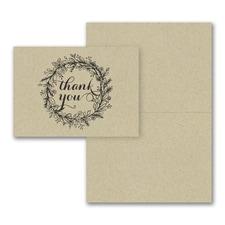 Krafty Thank You Note - Blank