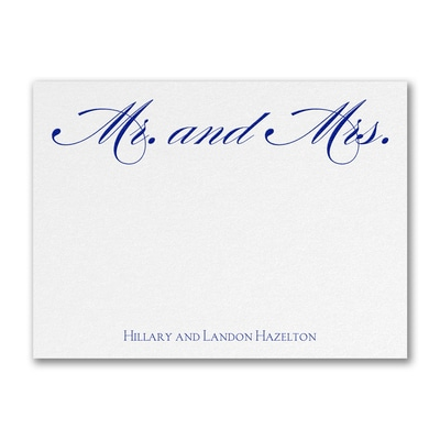 Happily Ever After Note Card and Envelope