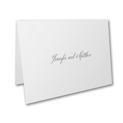 White - Thank You Note