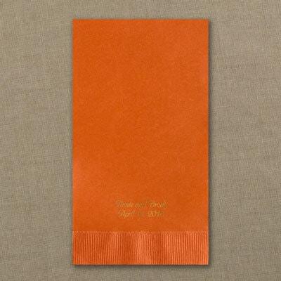 Guest Towel - Pumpkin