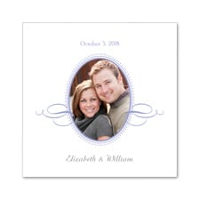 Dotted Photo Frame - Napkin