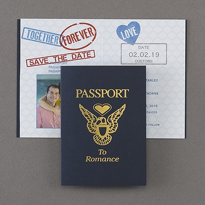 Passport to Romance - Save the Date