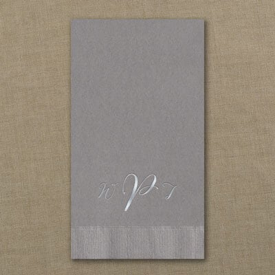 Guest Towel - Pewter