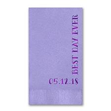 Guest Towel - Periwinkle