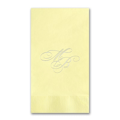 Guest Towel - Pastel Yellow