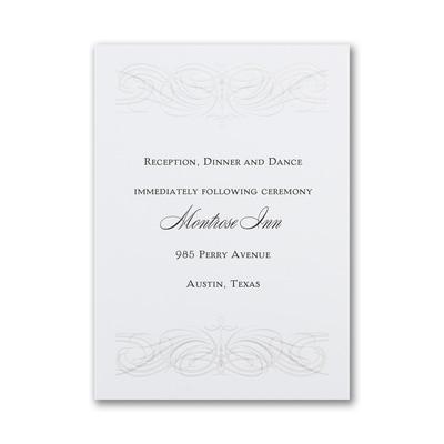 Modern Pearl - Reception Card