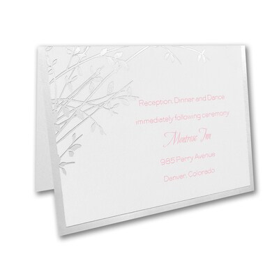 Naturally Sweet - Reception Card