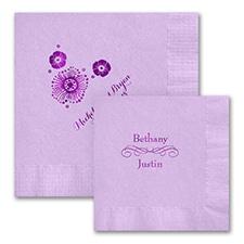 Lavender Napkins